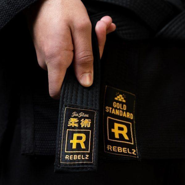 rebelz bjj balte standard svart 2