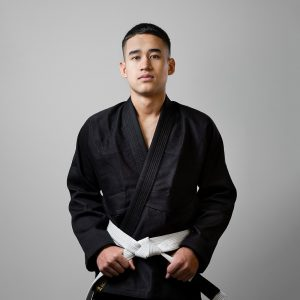 Rebelz BJJ Gi Gold Standard black