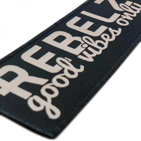 rebelz patch good vibes only 2a