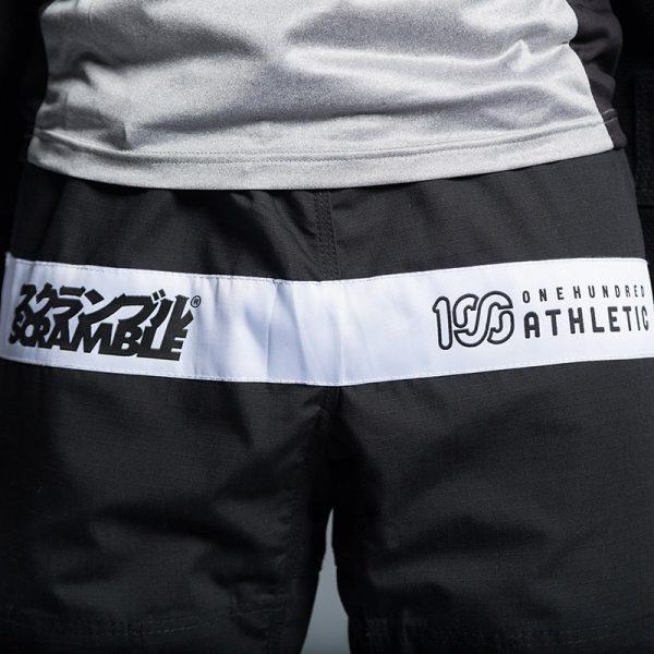 scramble 100 athletic bjj gi svart 6