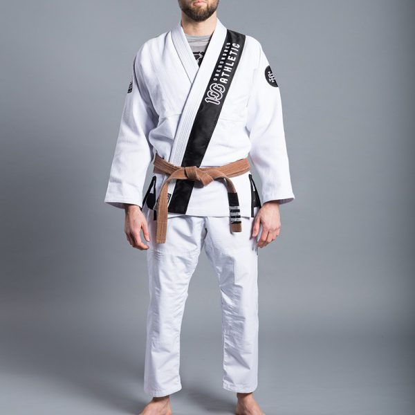 Scramble x 100 Athletic BJJ Gi Limited Edition white
