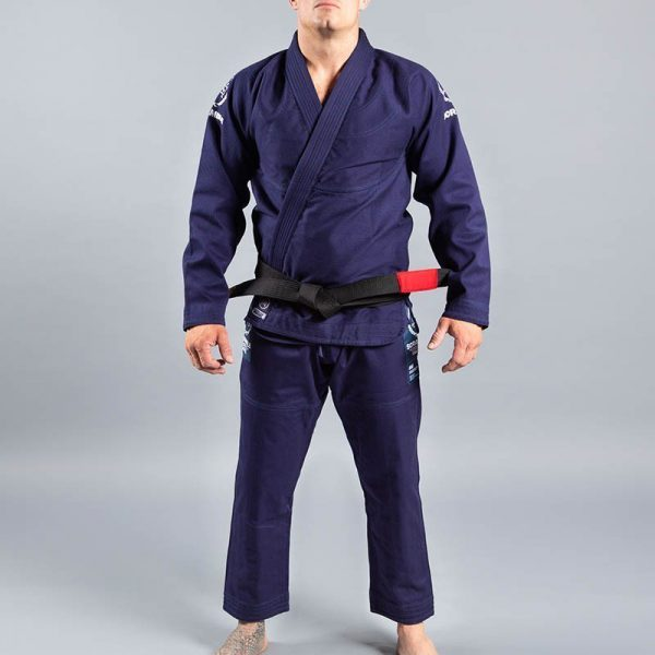scramble bjj gi wave 2 navy 1