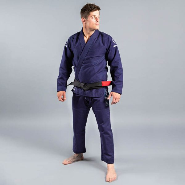 scramble bjj gi wave 2 navy 2