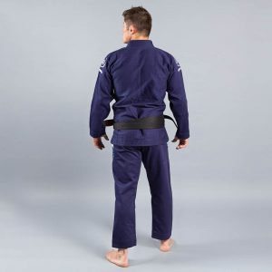scramble bjj gi wave 2 navy 3