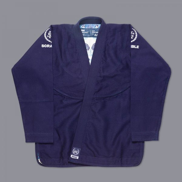 scramble bjj gi wave 2 navy 4