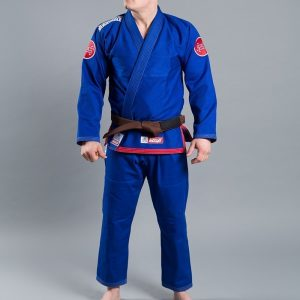 Scramble BJJ Gi Athlete 3 blue