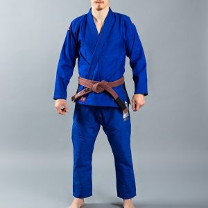 Scramble BJJ Gi Athlete 4 blue 375