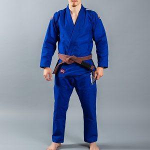 Scramble BJJ Gi Athlete 4 blue 450