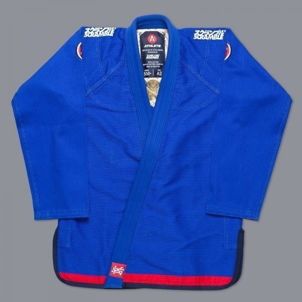 Scramble BJJ Gi Ladies Athlete 4 blue 550