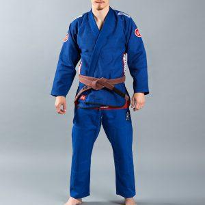 Scramble BJJ Gi Athlete 4 blue 550