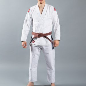 Scramble BJJ Gi Athlete 4 white 375