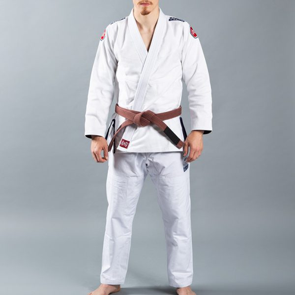 Scramble BJJ Gi Athlete 4 white 450