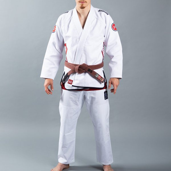 Scramble BJJ Gi Athlete 4 white 550