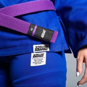 scramble bjj gi ladies standard issue semi custom v2 bla 2