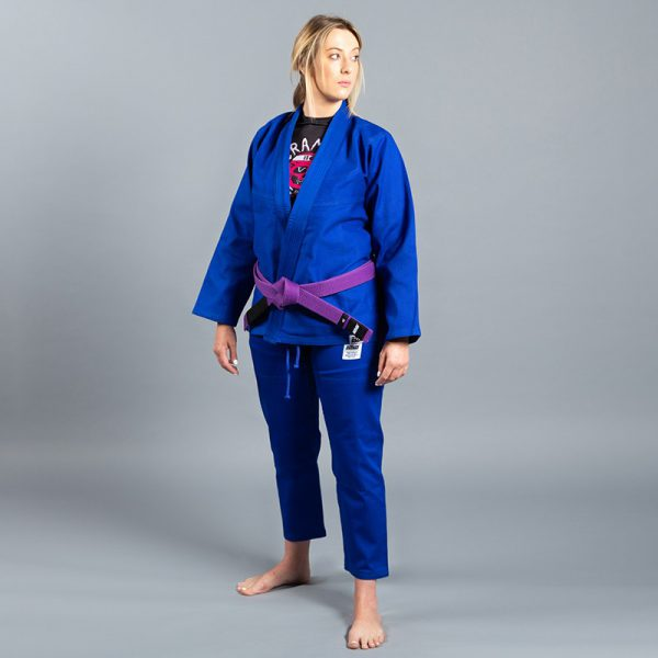 Scramble BJJ Gi Ladies Standard Issue Semi Custom V2 blue
