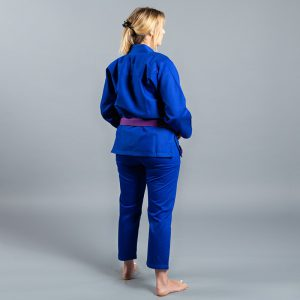 scramble bjj gi ladies standard issue semi custom v2 bla 4