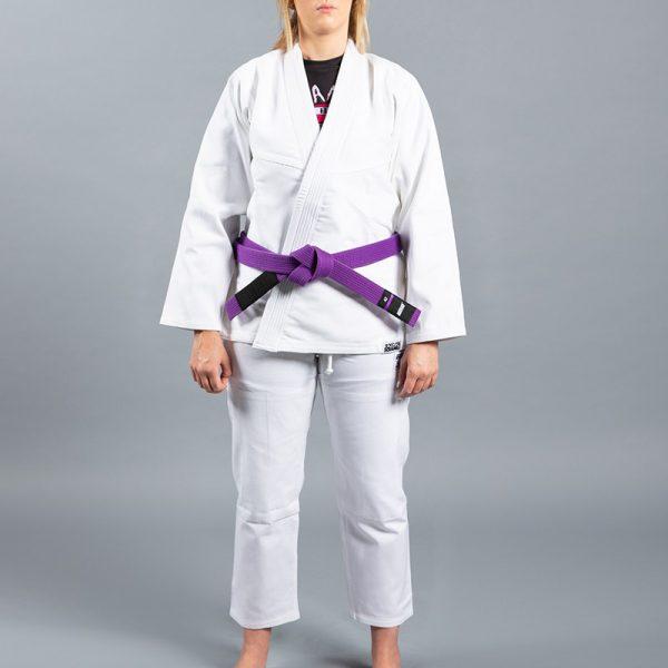 Scramble BJJ Gi Ladies Standard Issue Semi Custom V2 white