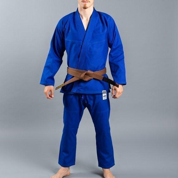 Scramble BJJ Gi Standard Issue Semi Custom V2 blue