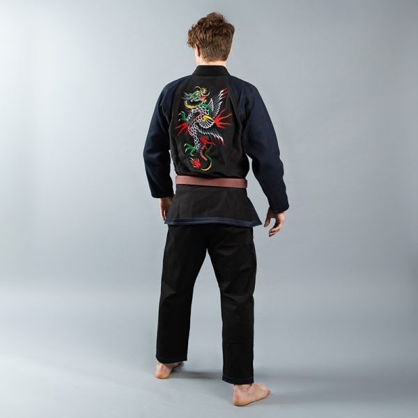 scramble bjj gi sukajan dragon 2