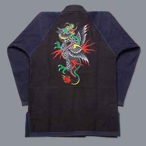 scramble bjj gi sukajan dragon 8