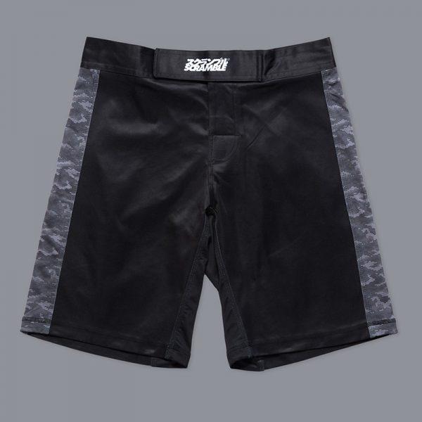 scramble black digital camo shorts 12