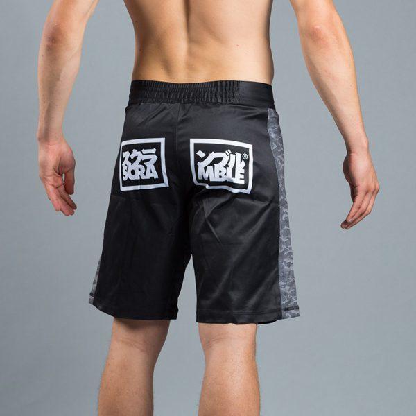 scramble black digital camo shorts 2