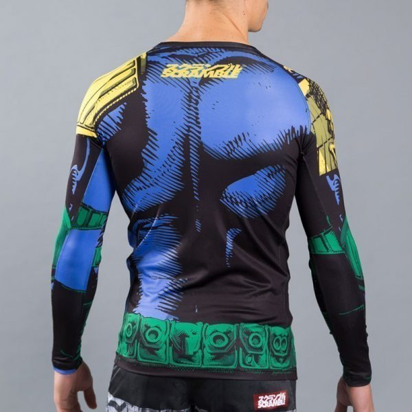 scramble judge dredd rashguard 3