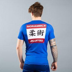 scramble rashguard shiai bla 2