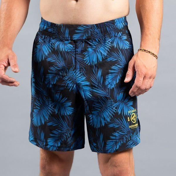 Scramble Shorts Indigo Camo