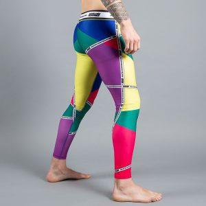 scramble spats rainbow v2 2
