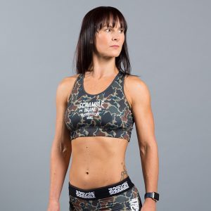 Scramble Ladies Sports Bra camo