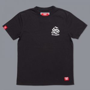 scramble toshi t shirt svart 1