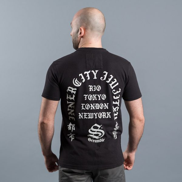 scramble toshi t shirt svart 2