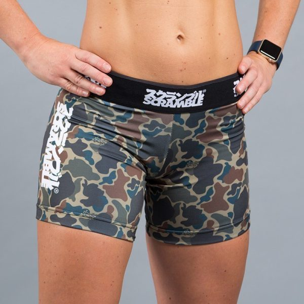 Scramble Ladies Vale Tudo Shorts camo
