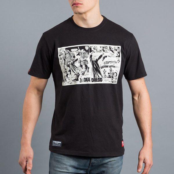 Scramble x Judge Dredd T-shirt Samurai