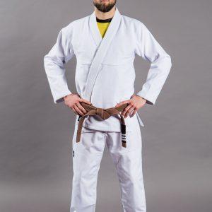 Scramble BJJ Gi Standard Issue Semi Custom white