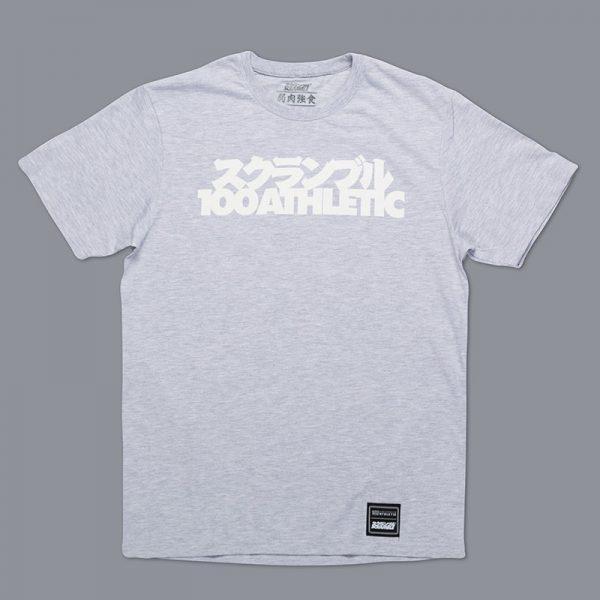 Scramble x 100 Athletic T-shirt grey