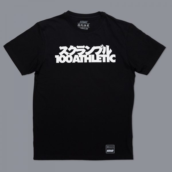 Scramble x 100 Athletic T-shirt black