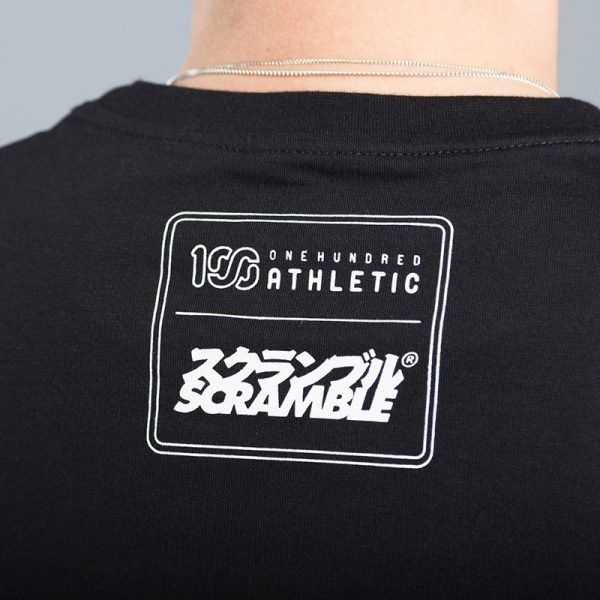 scramble x 100 athletic t shirt svart 3