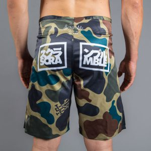 scramble shorts no mind camo 2 1