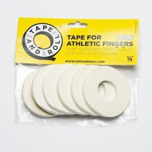 Tape And Roll BJJ Tape white 1/4 inch 6-pack