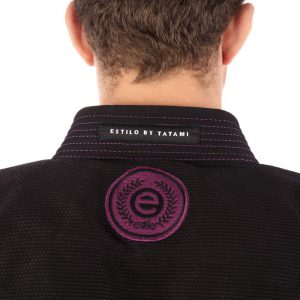 tatami bjj gi estilo 6 0 svart lila 6