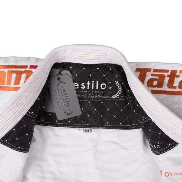 tatami bjj gi estilo 6 0 vit orange 6