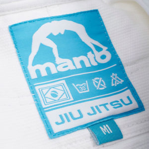 Tatami BJJ Gi Kids 2.0 vit blå 4