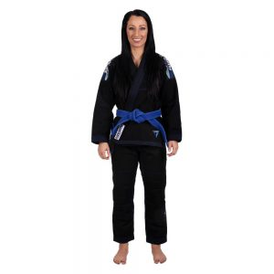 tatami bjj gi ladies elements ultralite 2.0 svart 2
