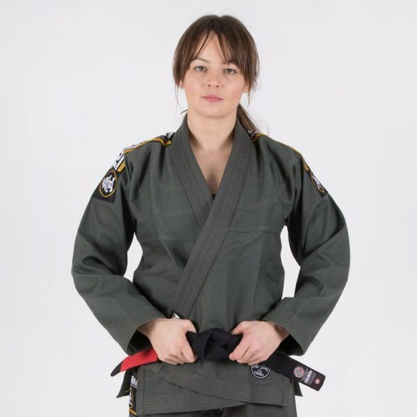 tatami bjj gi ladies nova absolute mossgron 1