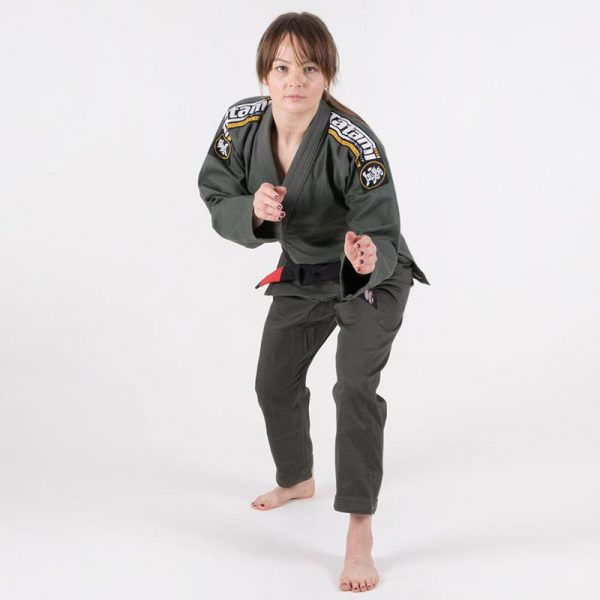 tatami bjj gi ladies nova absolute mossgron 3