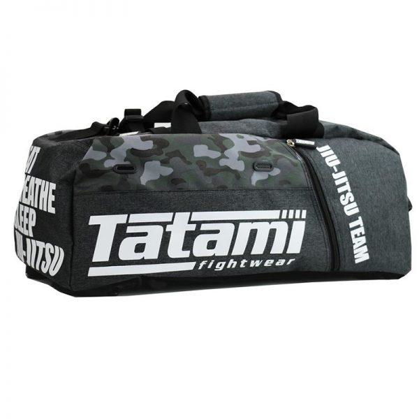Tatami Jiu Jitsu Gear Bag grey/camo