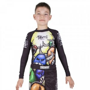 Tatami Kids Rashguard Monsters