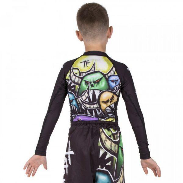 tatami kids rashguard monsters 2